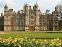 Burghley House and Gardens in Spring