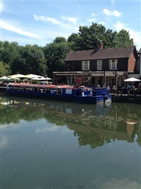 Horse drawn canal cruise with lunch