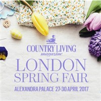 COUNTRY LIVING SPRING FAIR at Alexandra Palace