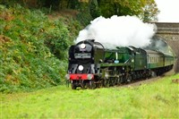 Spa Valley Railway with afternoon tea